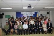 第1期技能実習生候補者たちの入学式。